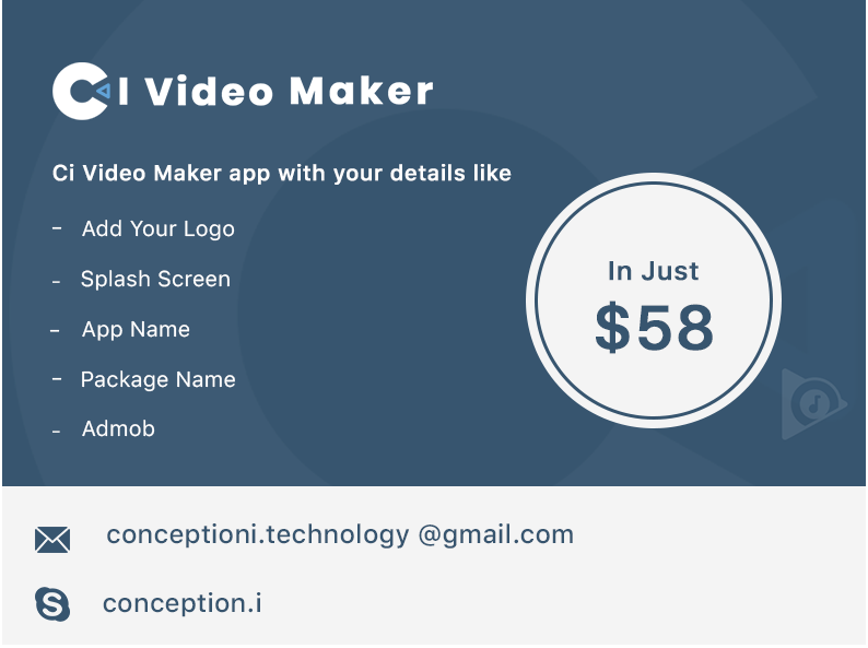 CI Video Maker Android App - 7